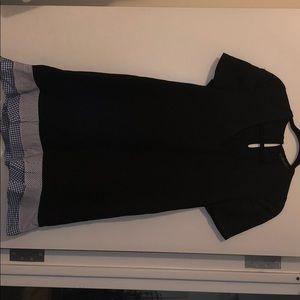 Zara Dress with Gingham Trim